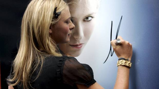 TAG Heuer cut ties with Maria Sharapova  after she was given a two-year drug ban.