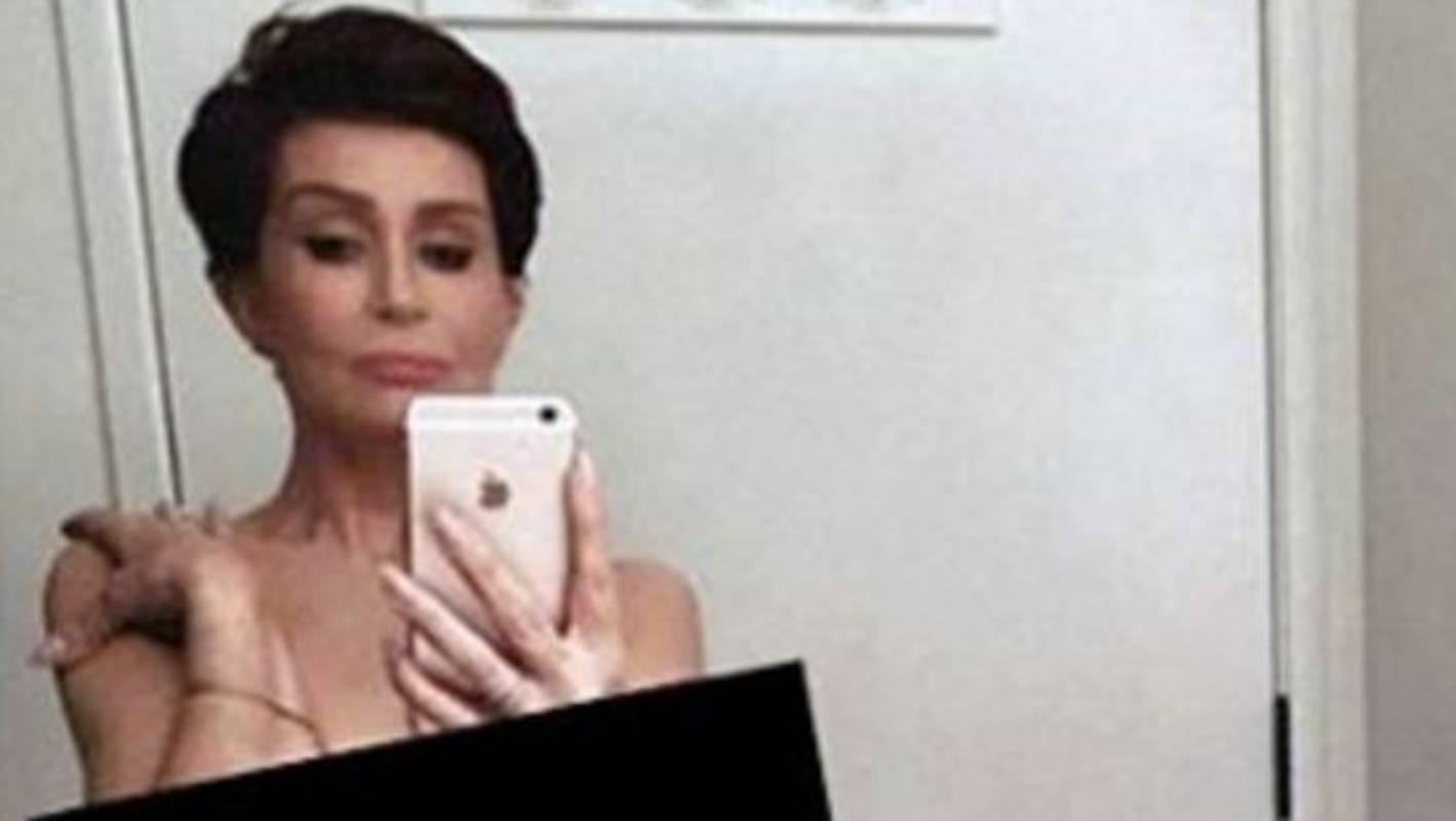 Sharon Osbourne Posts Naked Selfie to Support Kim