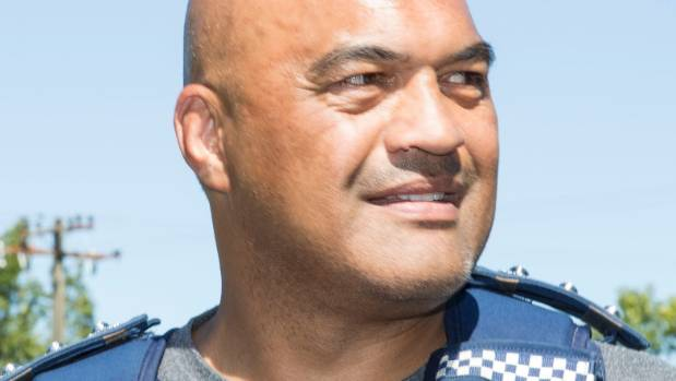 Taupo District  Area Commander Warwick Morehu was key to ending the police stand-off with 27-year-old Rhys Warren.