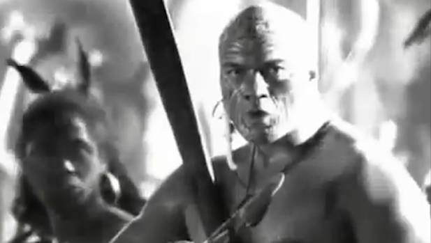 Morehu was the Maori figure behind a 2009 All Blacks campaign that was viewed worldwide.