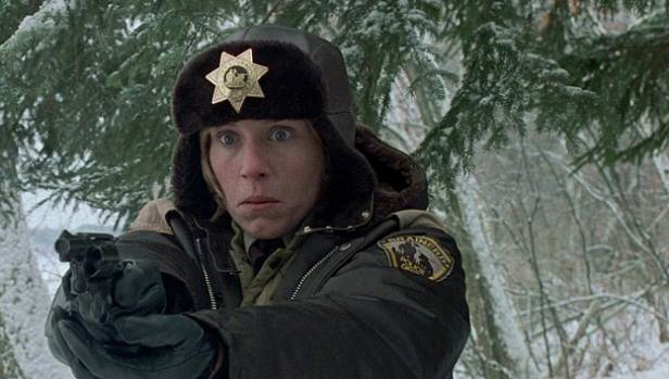 Frances McDormand stars in the Coen Brothers' 1996 cult classic Fargo