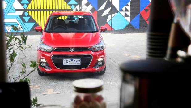 Spark's powertrain still works best in the city - especially the two-pedal CVT.