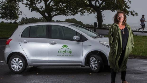 Emma Morrison, a Waiheke Island resident who uses Cityhop.