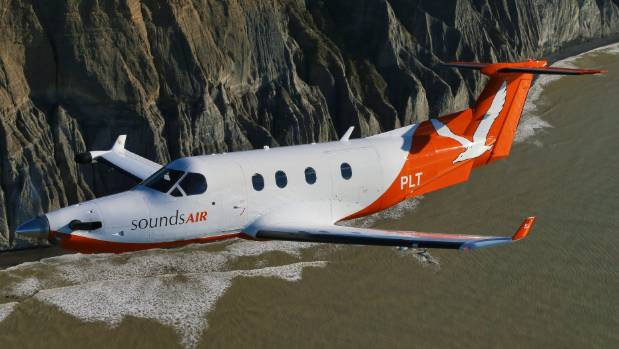 Marlborough-based Sounds Air has grown its passenger numbers from 14,000 to near 100,000.
