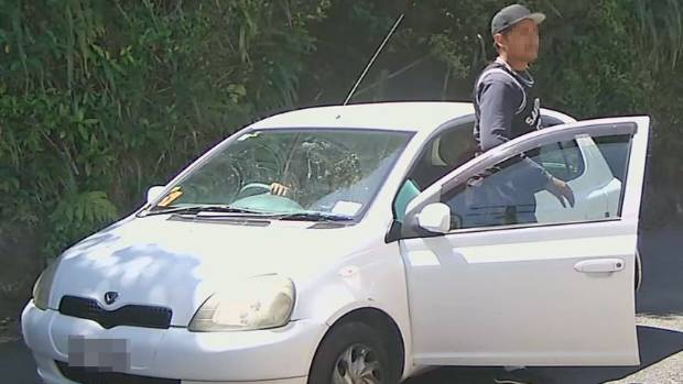 The CCTV footage clearly showed the alleged offenders, and the car they were driving.