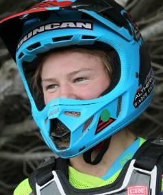 Otago motorcross rider Courtney Duncan.