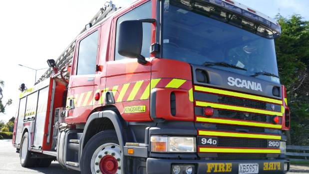 The fire service, St John ambulance and police were all in attendance at the three vehicle crash in Kumeu.