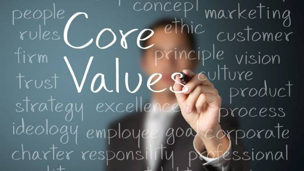 Sticking to core values is part of creating a powerful business culture.