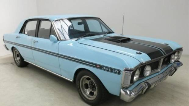 Dunedin owner of seized 72 ford falcon gt gutted after