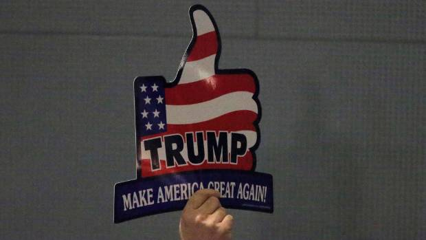 """When Donald Trump says he wants to """"make America great again"""", he means shutting foreign competitors out the US domestic ..."""