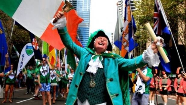 St patricks day date in Sydney