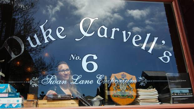 Duke Carvell's was a restaurant and bar in Swan Lane, Wellington.