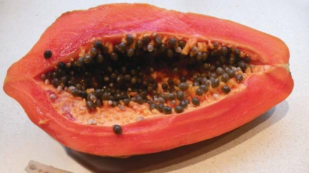 how to choose red papaya