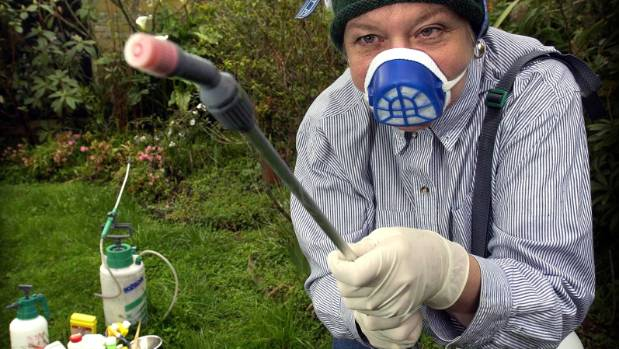 Many gardeners will use spray as their main weapon in the war against pests.