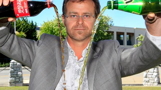 Public health dentist Dr Rob Beaglehole wants to see a ban on sugary drinks rolled out across the country.