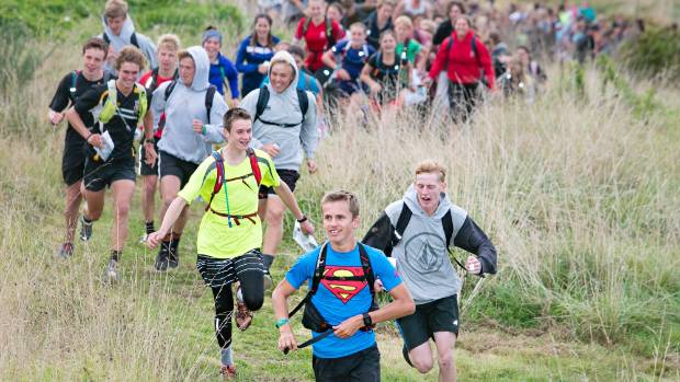 800 students dash off to find checkpoints at New Plymouth's rogaine competition.