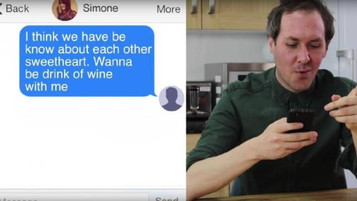 Man creates fake Tinder profile to see what online dating is