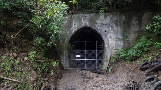 The Belgrove entry to Spooners Tunnel.