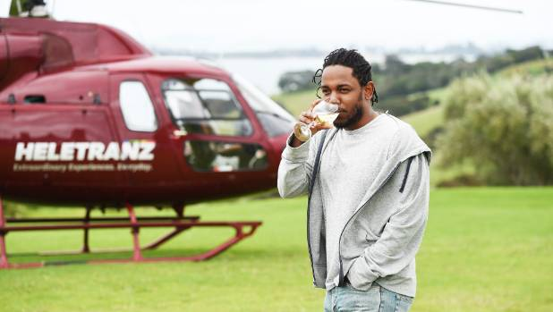 Kendrick Lamar headlined Auckland City Limits in March 2016.