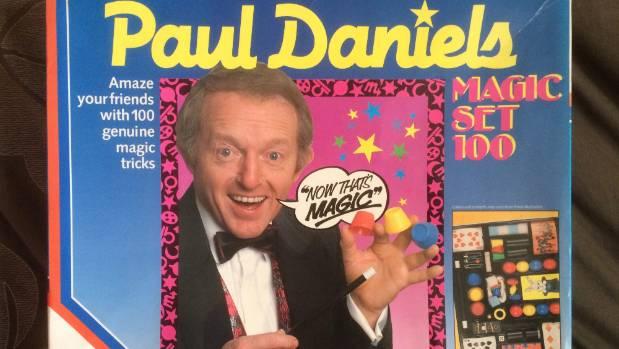 Mick Pick still has the Paul Daniels magic set he had as a child.