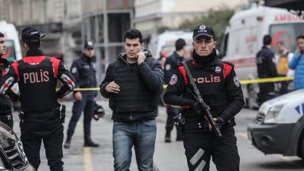 Four people, including a suicide bomber, died in an attack last week in Istanbul, Turkey.
