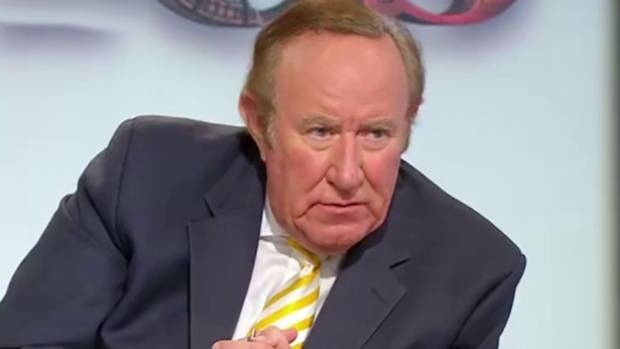 Andrew Neil: Met his match with 10-year-old Charlotte.