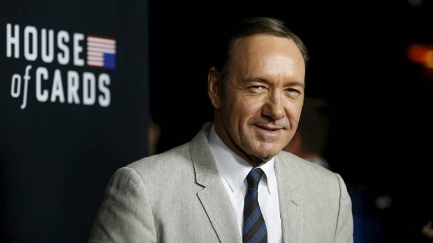 Kevin Spacey plays the role of Frank Underwood on the television series House of Cards.