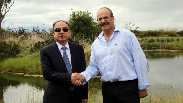 Department of Conservation director-general, Lou Sanson and Vice-Minister Chen Fengxue, the Chinese Minister responsible ...