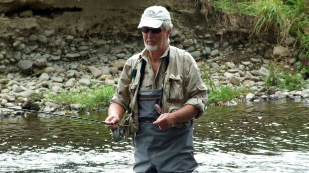 Craig Caldwell, coordinator for Reel Recovery, says men from around the country who attend the fly-fishing weekend are ...