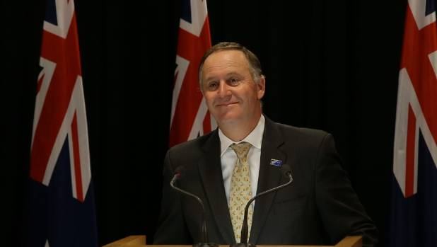 """Prime Minister John Key says he does not see the flag vote as part of his legacy """"one way or the other""""."""
