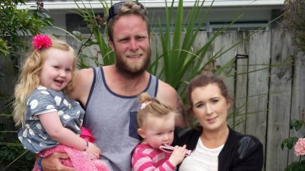Kapiti couple Kiel and Emma Moore-Jones, with their two young daughters, unknowingly bought a house contaminated with ...