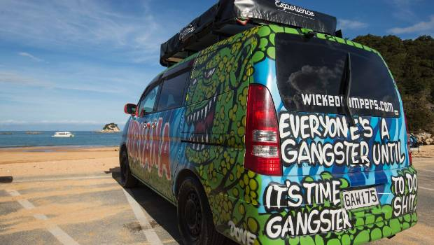 006649dc99 Wicked Campers slogan outrage continues