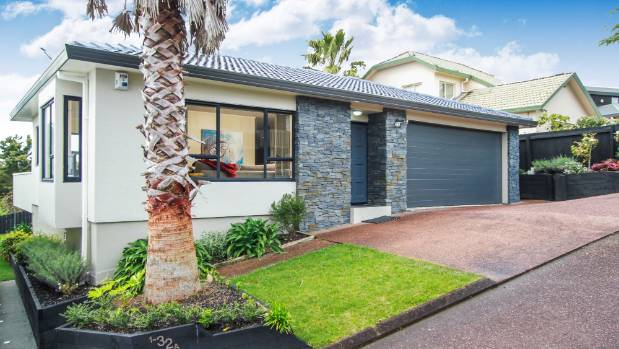 The three-bedroom house bought by Renee Van Veen and Kurt Jameson is on a crosslease site in Unsworth Heights on ...