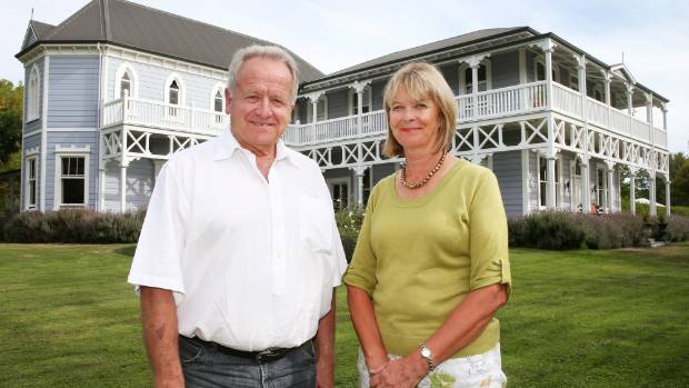 Marlborough Tour Company owner Chris Godsiff, pictured with wife Sue, has sold his shares in The Marlborough Lodge.