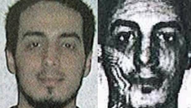 Images released by police of Brussels bombing suspect Najim Laachraoui.