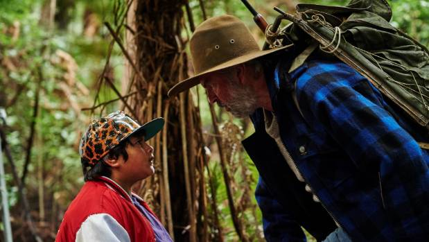 Julian Dennison and Sam Neill star in Taika Waititi's film Hunt for the Wilderpeople.