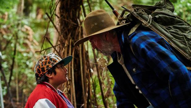 "Julian Dennison and Sam Neill star in Taika Waititi's film Hunt for the Wilderpeople. Neill's ""classic Swannie"" has sold ..."