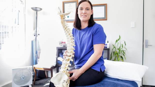 Working in the CBD in Wellington means osteopath Vicky Tate regularly treats people suffering from Occupational Overuse ...