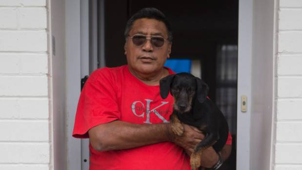 Puti Rau is refusing to let his dog, Nima, go. He is waiting for the next move from his landlord.