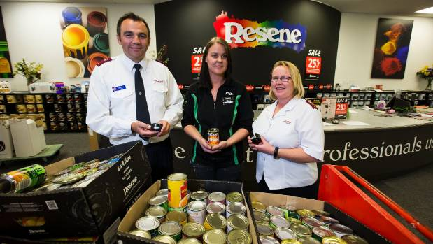 Salvation Army Food Bank Palmerston North