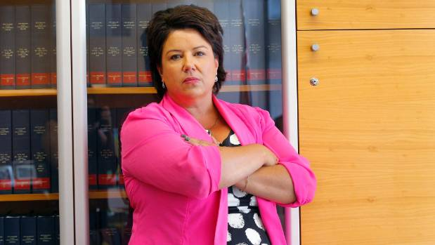 Associate Tourism Minister Paula Bennett has been one of the biggest critics of Wicked Campers.