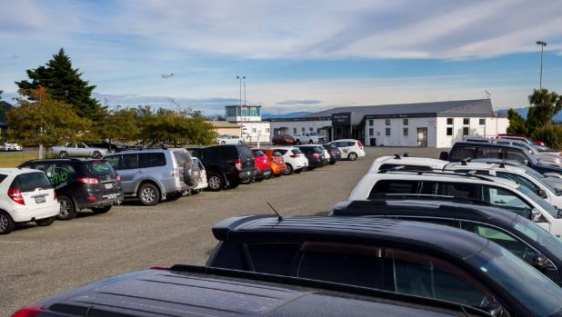 A temporary car park may be set up at Timaru Airport to cater for a growing number of visitors.