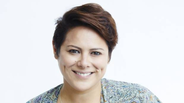 "Anika Moa says that a ""realistic version of parenting is not a fairy tale""."