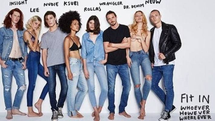 Mum Outraged Over Clothing Ad Featuring Fully Dressed Men, And Half Naked Women -5754