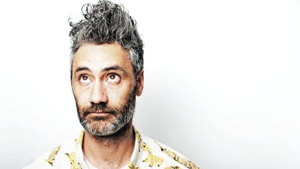 Hunt For The Wilderpeople writer-director Taika Waititi.