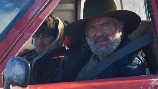 Sam Neill and Julian Dennison  in the Taika Waititi film Hunt for the Wilderpeople.