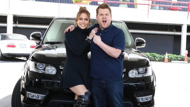 Jennifer Lopez joins James Corden team up for some Carpool Karaoke.
