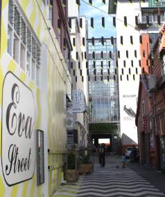 Wellington's Eva St, one of a growing number of colourful laneways popping up in the Capital.