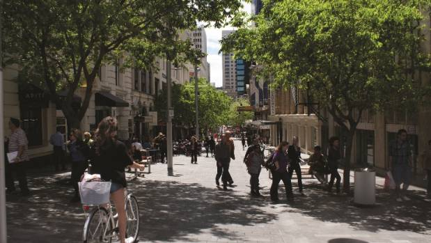 Elliott St has become more liveable thanks to Auckland Council's laneways programme.