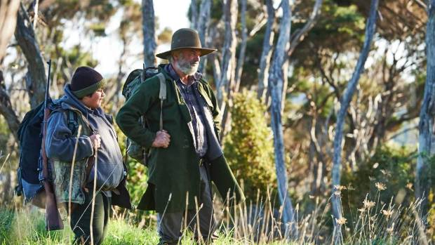Julian Dennison and Sam Neill star in the Taika Waititi film Hunt for the Wilderpeople.